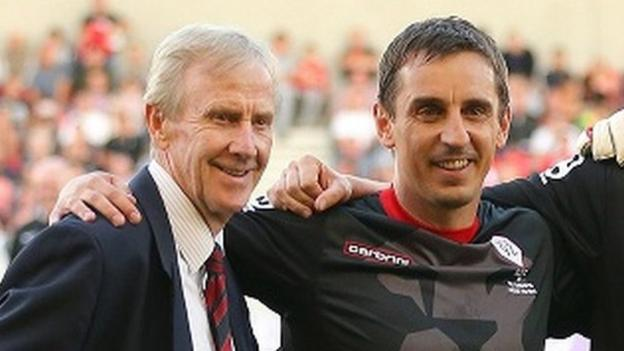 105640970 harrison getty - Eric Harrison: Former Manchester United youth coach and Class of 92 mentor dies aged 81