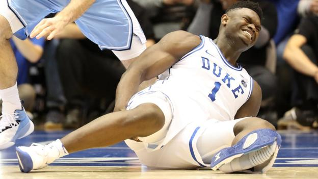105731765 gettyimages 1131052411 - Basketball star hurt as shoe falls apart