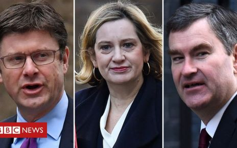 105759191 clark rudd gauke epa - Brexit: Amber Rudd, David Gauke and Greg Clarke issue delay warning