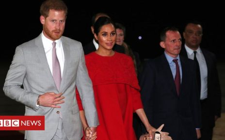 105766894 hi052532558 - Duke and Duchess of Sussex: Harry and Meghan arrive in Morocco