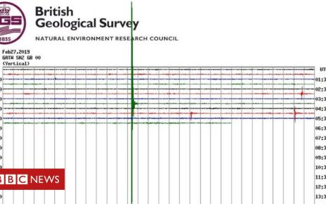 105818572 earthquake - Surrey earthquake 'shakes houses'