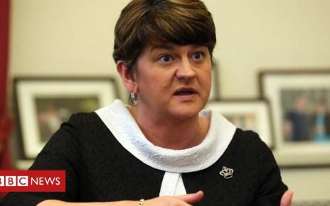 93050571 1foster11 - Brexit: Arlene Foster hopeful of backstop changes