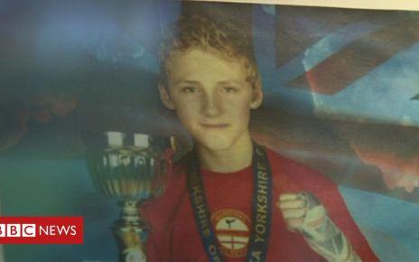 95145764 scottmarsdentrophies1 - Teen kickboxer Scott Marsden's death 'tragic fluke'