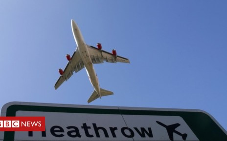 95911315 heathrowplanereuters - Armed officers arrest man at Heathrow Airport