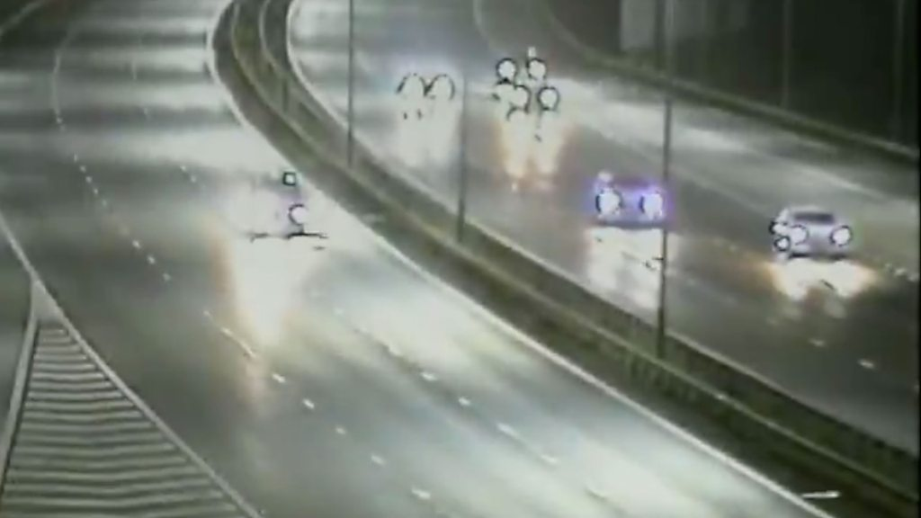 p06w855b - Drink-driver who went wrong way on M4 near Reading jailed