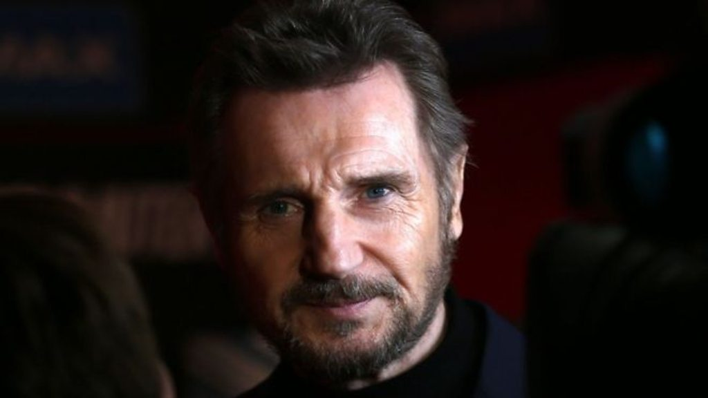 p07008gh - Liam Neeson film's red carpet event cancelled amid racism row