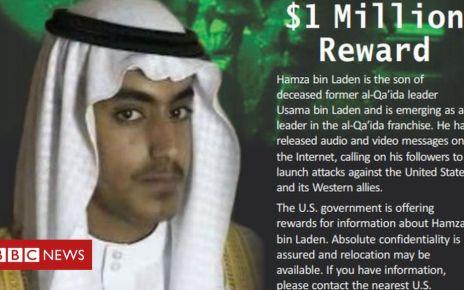 105848087 bbfe6418 48ca 46f2 9bc9 da89f40374c8 - Bin Laden: US offers reward for Osama's son Hamza