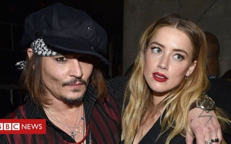 105866859 amberandjohnny - Johnny Depp sues ex-wife Amber Heard over article