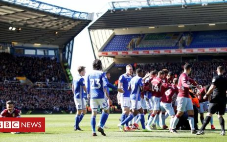 105966284 grealish2 reu - Jack Grealish: Man charged with pitch attack in Birmingham derby