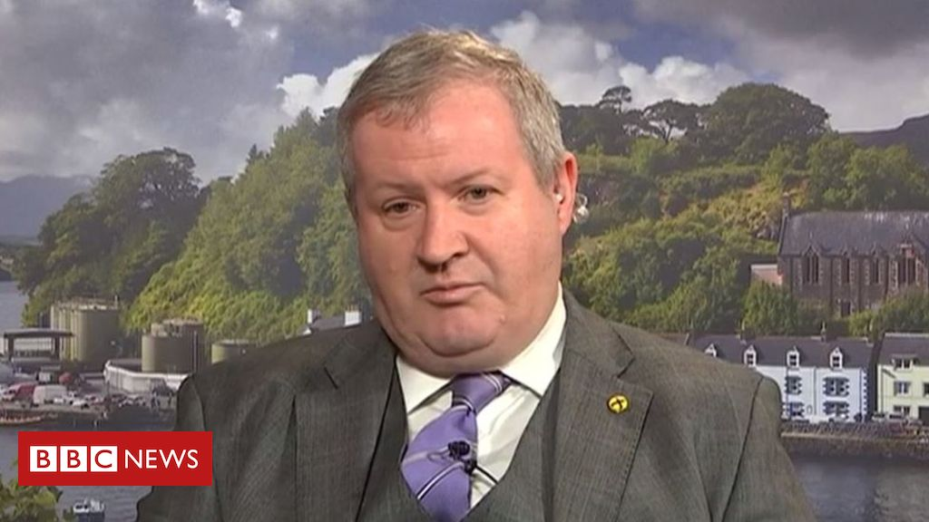 105968369 blackford2 - Brexit: SNP to ask for indyref powers over Brexit