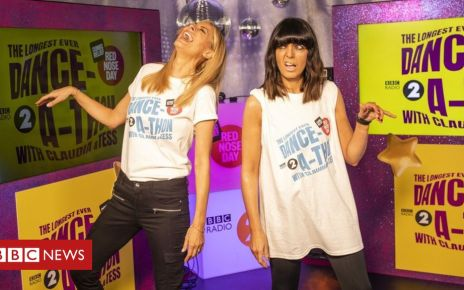 105988926 aca76360 483d 4dda 91ed 4555f0c5992b - Tess and Claudia 'in agony' as they tackle a gruelling 24-hour danceathon