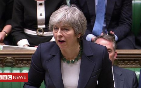 106013294 p073fxkm - May: MPs 'need to face up to consequences of their decisions'