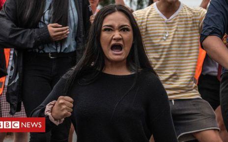 106073466 hi053028803 crop - New Zealand shootings: Christchurch students perform Haka for victims
