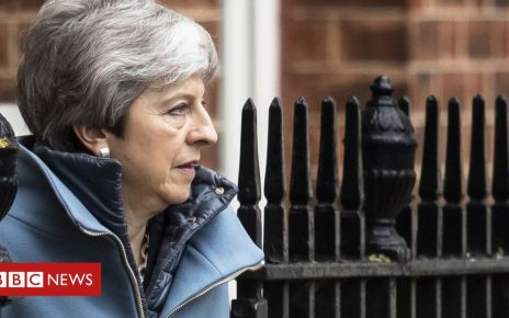 106142396 theresamay - Brexit: Vote on Theresa May's deal may not happen next week