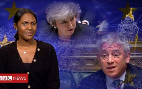 106168496 p074j6r6 - Brexit votes: Why does Speaker shout 'Order, Order'?