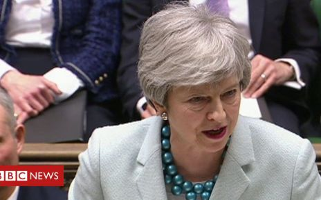 106174820 pm - Brexit: Theresa May on her 'frustration with MPs' speech