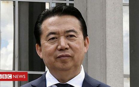 106195031 053160507 1 - Meng Hongwei: China to prosecute former Interpol chief