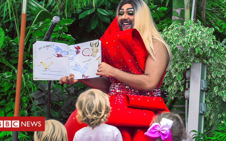 106196360 p074pwgf - Drag Queen Story Time: connecting kids with LGBTQ+ role models of colour