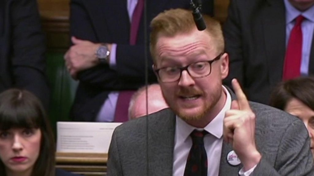 p0745ln9 - MP condemns Andrea Leadsom in PMQs over LGBT lesson remarks
