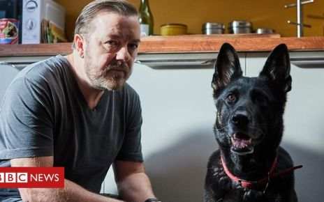 106296365 p0723dpt - Ricky Gervais to write second series of After Life for Netflix