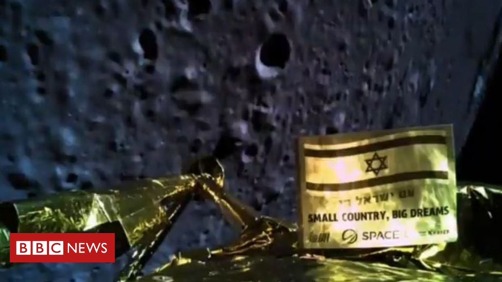 106417020 moonlanding - Beresheet spacecraft: 'Technical glitch' led to Moon crash
