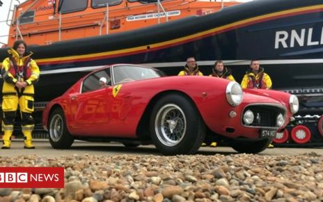 106425480 de01 - Ferraris donated to RNLI help buy new lifeboats