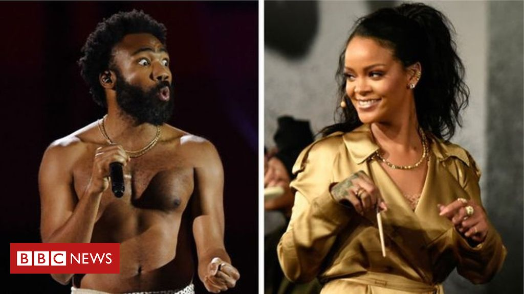 106445850  106407622 rihanna and donald - Guava Island: Fans respond to Donald Glover and Rihanna's new film