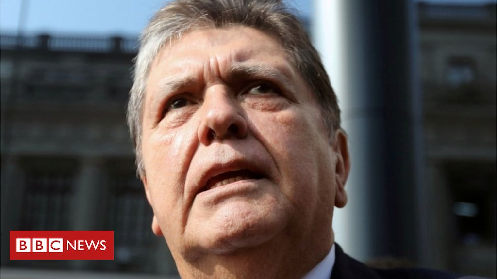 106485806 tv053468464 - Peru's ex-President Alan García shoots himself before arrest
