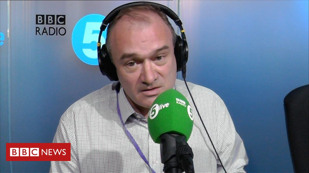 106490230 p076rkbw - Ed Davey: 'Losing both parents meant I grew up early'