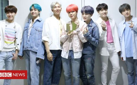106522589 bts976 - BTS become first Korean artists to top UK chart