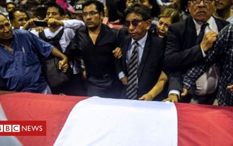 106523722 274b3834 0c6b 4e88 a72b 38385a4c7c84 - Ex-Peru president's daughter reads suicide note at funeral