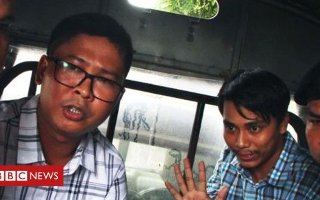 106553518 gettyimages 1000092270 - Myanmar top court rejects Reuters journalists' appeal
