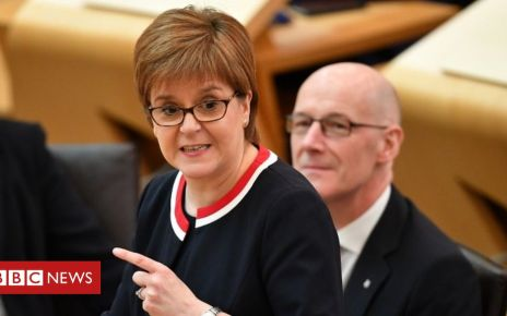 106560398 053218867 - Scottish independence: Nicola Sturgeon to give update on indyref2 plans