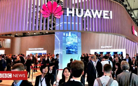 106569435 huawei event alamy - Huawei row: Ministers call for investigation into leaking