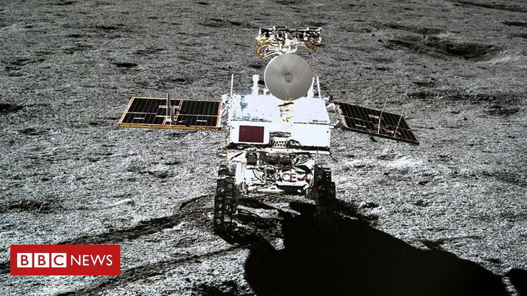 105148011 6780103 - Chang'e-4: Chinese rover 'confirms' Moon crater theory