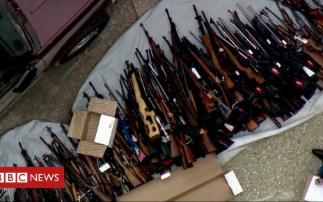 106863935 p078rwwf - More than 1,000 guns seized from Los Angeles home