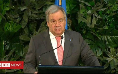 106921290 p078zjhb - Political will to fight climate change is fading, warns UN chief