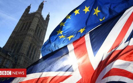 106950400 flagsnew - Bill implementing Brexit deal to be introduced in early June