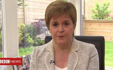 107015080 p079nvx9 - European elections 2019: 'We want to keep Scotland in the EU' - Sturgeon
