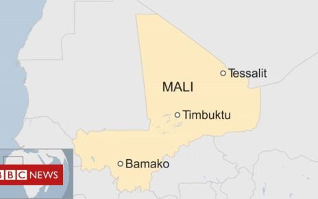 107019388 mali tesalit 19052019 - Mali violence: Nigerian peacekeeper killed in Timbuktu