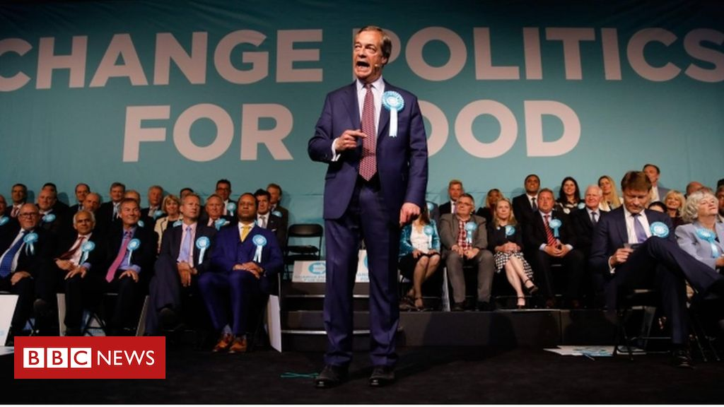 107054607 farage afpgettyimages - European elections 2019: Parties hold final rallies ahead of vote