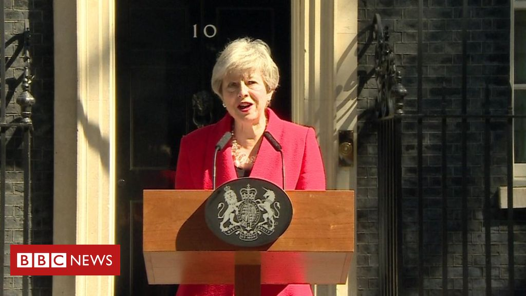 107092930 may - Theresa May to resign as prime minister