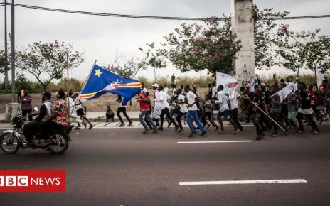 107174465 hi054317293 - Body of DR Congo opposition leader lies in state