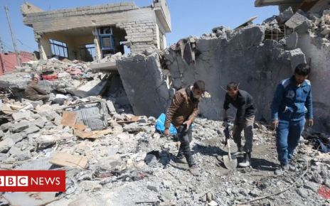 107182081 a5f2e243 796a 49df a2e5 dea524fd8938 - IS fight: US-led coalition says it killed 1,300 civilians in Syria and Iraq