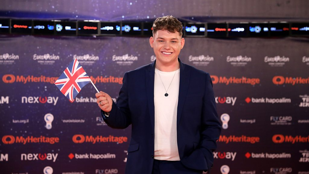 p0797jpw - Eurovision 2019: 'Game time' for UK's Michael Rice