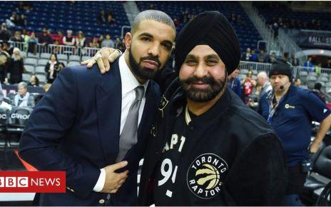 107104174 p07bxy71 - The Toronto Raptor superfan who's not Drake