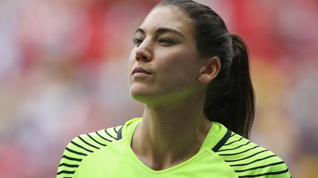 107253773 hope solo getty - Women's World Cup: Fifa 'entrenched in chauvinism' over prize money, says Hope Solo