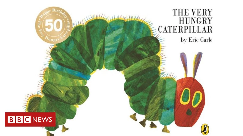 107325712 c79674ac 2c9a 497c 80b6 ba17294c80b3 - Very Hungry Caterpillar still being devoured 50 years on