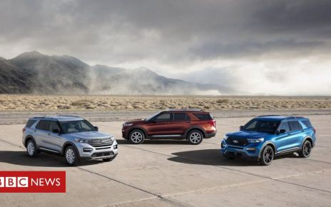 107354857 explorerfamily hr - Ford recalls 1.2 million vehicles in US over suspension fault