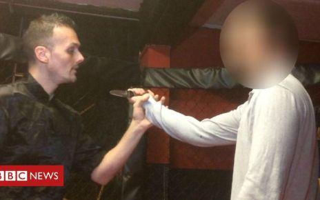 107369676 capture3 - Martial arts knife teaching 'should face better controls'